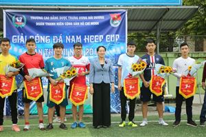 LỄ KHAI MẠC GIẢI BÓNG ĐÁ NAM HCCP CUP 2019