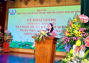Lễ khai giảng năm học mới 2020-2021 và Chào mừng kỷ niệm 38 năm Ngày Nhà giáo Việt Nam 20/11