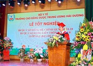 Lễ tốt nghiệp Khóa 10 DSCĐ Chính quy và Khóa 8 DSCĐ Liên thông (các lớp 8A, 8D và 8E)