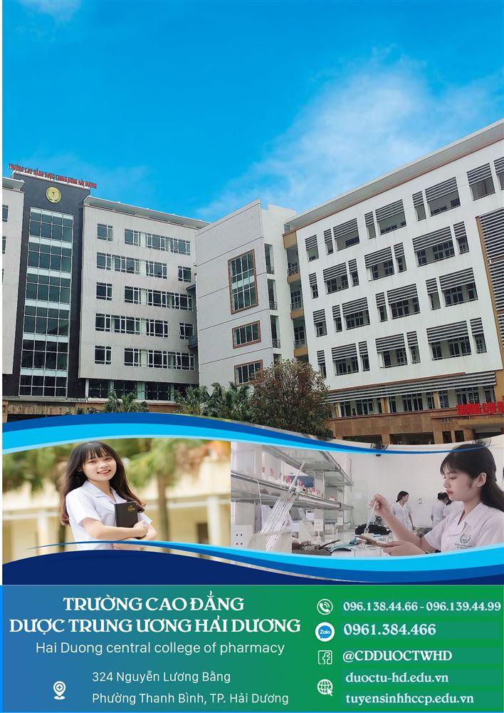 Thông báo Tuyển sinh Cao đẳng Dược 2021
