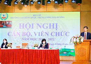 Hội nghị Cán bộ, viên chức năm học 2021 - 2022