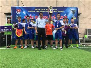 Chung kết và trao giải giải bóng đá nam chào mừng ngày Nhà giáo Việt Nam 20/11
