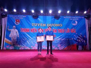 Tuyên dương Thanh niên tiên tiến làm theo lời Bác tỉnh Hải Dương năm 2019