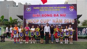 KHAI MẠC GIẢI BÓNG ĐÁ NỮ HCCP CUP 2018
