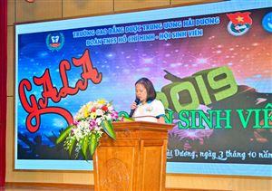 TƯNG BỪNG ĐÊM GALA CHÀO TÂN SINH VIÊN 2019