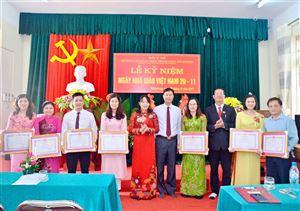 Kỉ niệm  ngày nhà giáo Việt Nam 20/11/2017