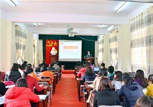 Đảng bộ trường CĐ Dược TW Hải Dương quán triệt, triển khai, thực hiện  Nghị quyết TW 6 khóa XII