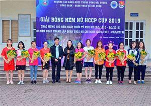 Khai mạc giải bóng ném nữ HCCP CUP 2019