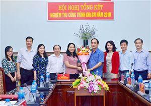 TS. Nguyễn Thị Hường bảo về thành công đề tài NCKH cấp tỉnh...