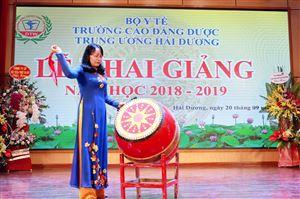 LỄ KHAI GIẢNG NĂM HỌC 2018 - 2019