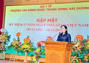 Gặp mặt kỷ niệm 37 năm ngày nhà giáo Việt Nam (20/11/1982 - 20/11/2019)