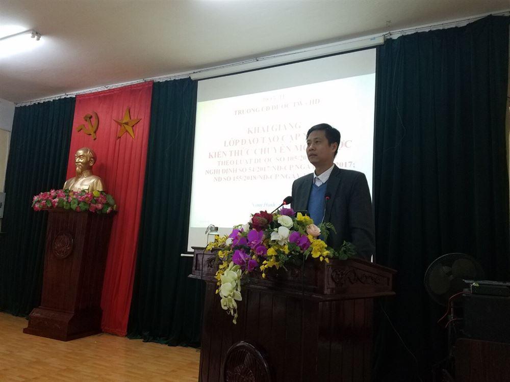 Đào tạo cập nhật kiến thức chuyên môn về Dược tại Nam Định