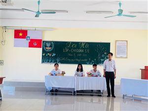 Tưng bừng Đại hội lớp – Chi đoàn CĐCQ khóa 12