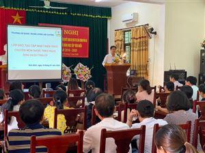 Đào tạo cập nhật kiến thức chuyên môn về dược tại Ninh Bình lần thứ 2