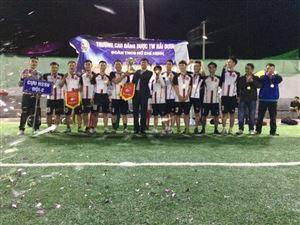 Chung kết và trao giải giải bóng đá nam chào mừng  ngày Nhà giáo Việt Nam (NGVN) 20/11