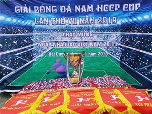 CHUNG KẾT VÀ TRAO GIẢI BÓNG ĐÁ NAM HCCP CUP 2019