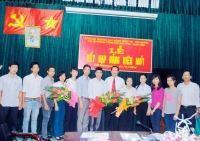 Lễ kết nạp Đảng viên tại chi bộ công tác HSSV