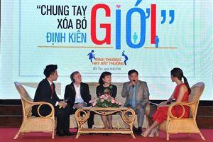 Ngày hội Chung tay xóa bỏ định kiến giới 2016