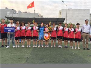 GIẢI BÓNG ĐÁ NỮ HCCP CUP 2018