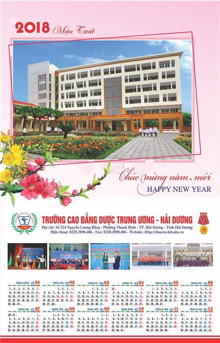 Trường Cao Đẳng Dược TW Hải Dương chúc mừng năm mới