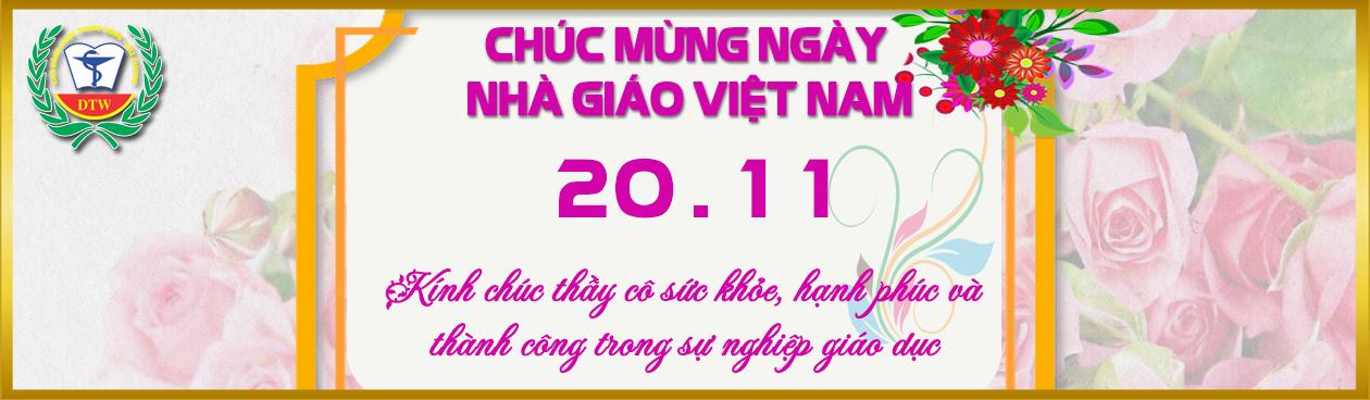 Mừng ngày Nhà giáo Việt Nam 20/11