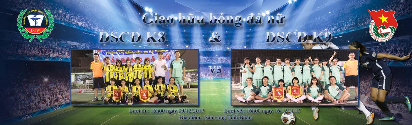 Giao hữu giải bóng đá nữ trường cao đẳng dược TW Hải Dương